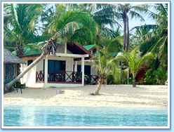 #1 Beachfront Bungalow at Moonhut resort
