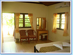 Double bedroom at Family Bungalow