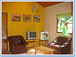 Sitting room at Family Bungalow